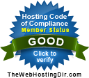 hostworx code of compliance seal